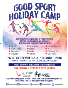 Good sports holiday camp