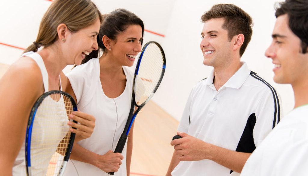 Doubles Squash Court