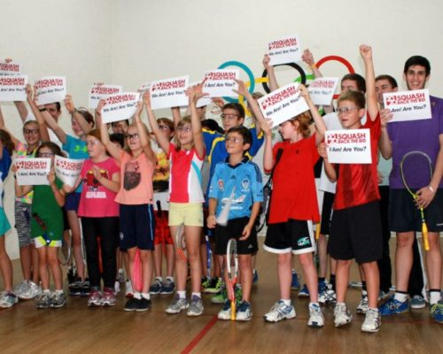 Squash 2020, Squash Olympics, Willoughby Squash Club
