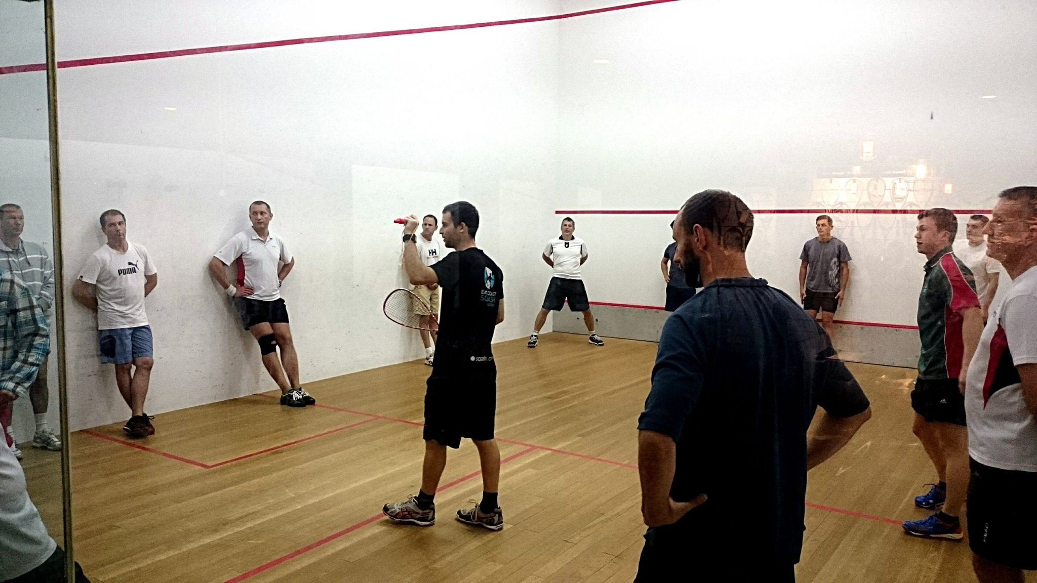 Professional Squash Coaching