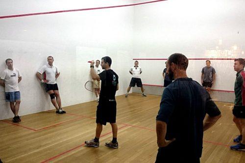 Squash squad coaching - East Coast Squash Academy