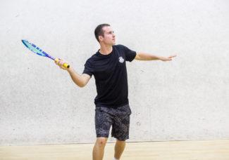 Darcy Evans Sydney Squash Acadmey Coach